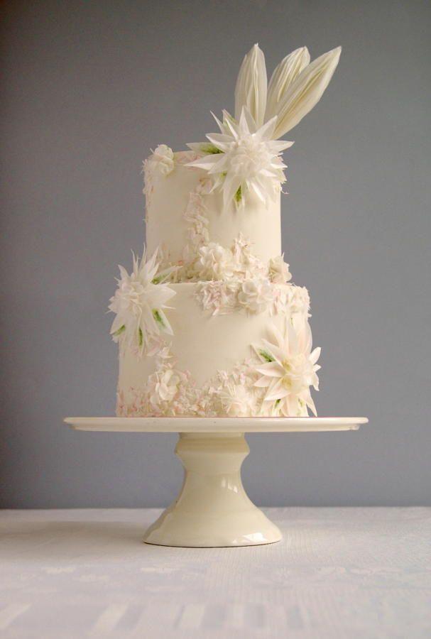 Wafer paper cake by Katarzynka