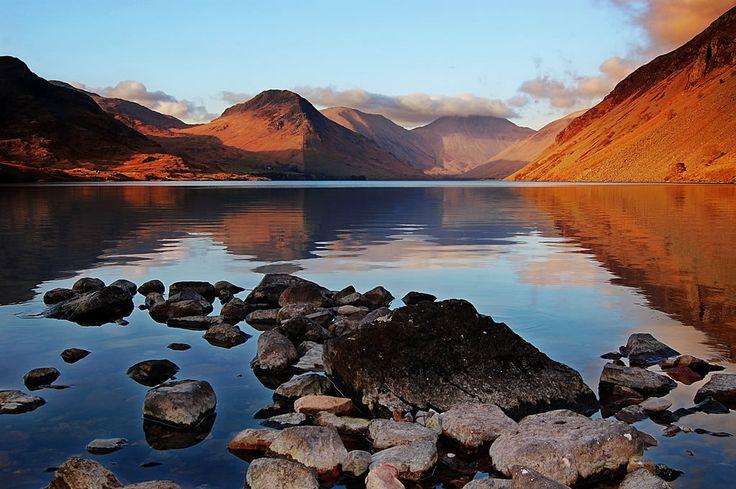 Lakes moody..