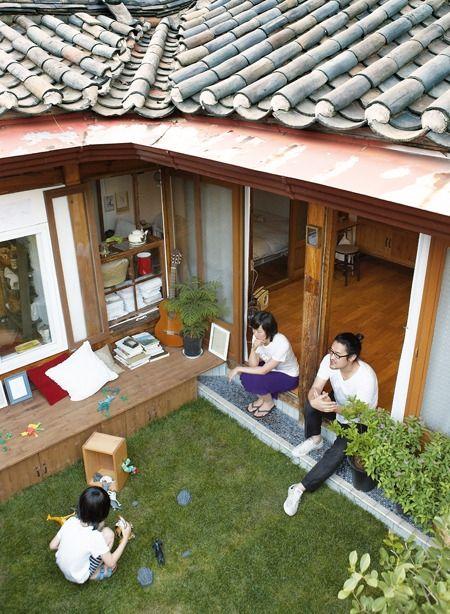 korea traditional home + morden interior