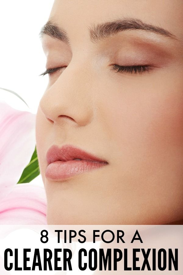 Feel confident and comfortable in your skin! Here are some helpful tips to having a clearer complexion.