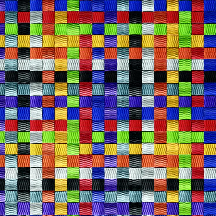 Detalle alfombra kvadrato modelo m xico wooprugs Alfombras persas en mexico