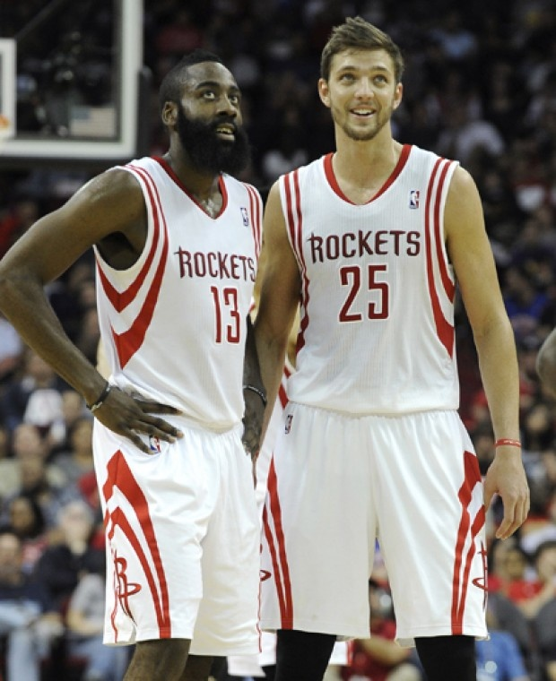 James Harden & Chandler Parsons