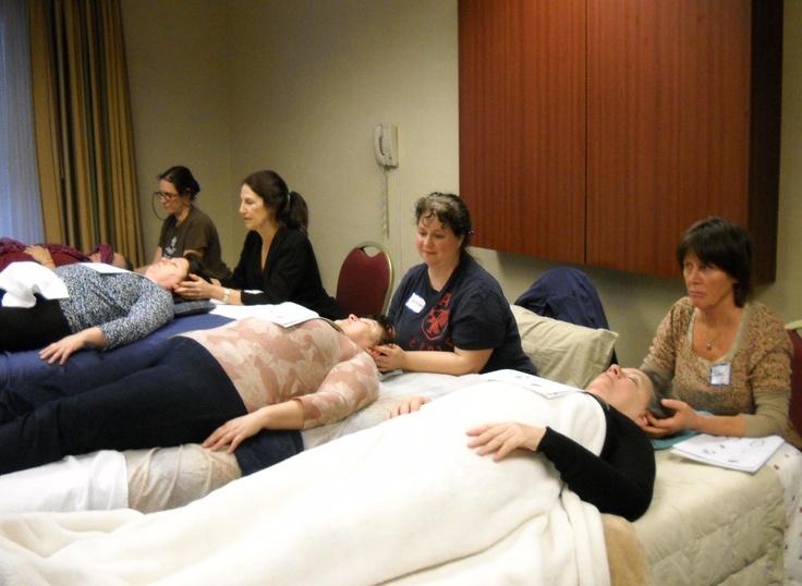 Practicing Ear Reflexology to be used in professional settings.  www.AmericanAcademyofReflexology.com