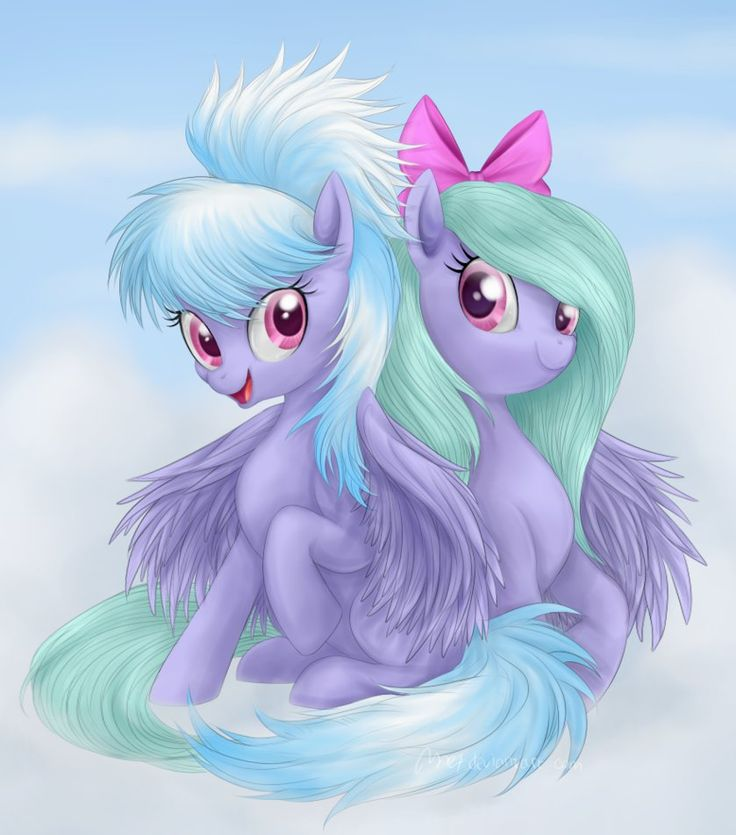 Mlp Wallpapers: 37 Best Cloudchaser And Flitter Images On Pinterest