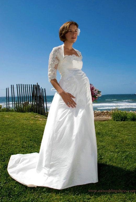 15 best Maternity bride dresses images on Pinterest | Wedding frocks ...