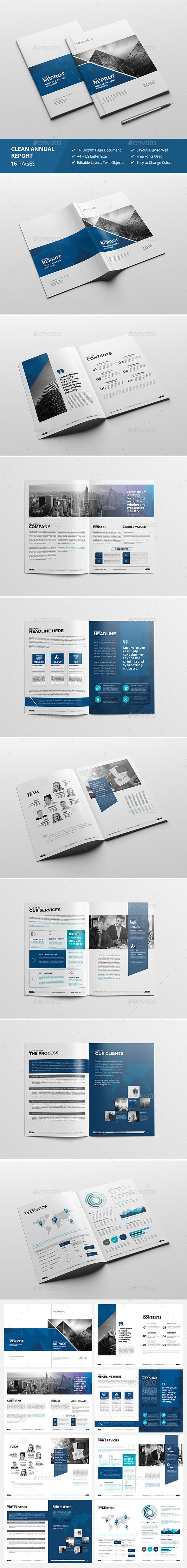 Haweya Modern Annual Report This InDesign Brochure Template is Clean & Professional. Create your company's documentation quick and easy. The template comes with organized layers, easy to customize & change colors. Multipurpose Usage This Template is suitable for any project purpose. Very easy to use and customize. It can be used as : Company Brochure / Coporate Brief / Agency Brochure / Annual Report / Features: Adobe InDesign (.Indd) + Idml A4 + U.S Letter size included ( 16 Pages ) Dimension :