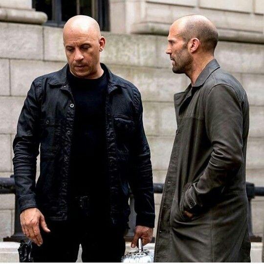 Vin Diesel und Jason Statham