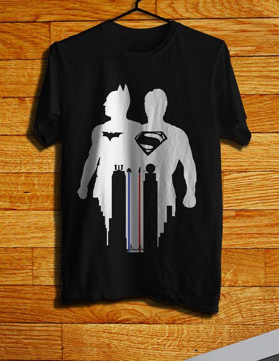 Batman Vs Superman Silhouette Men TShirt Batman by CHILITY, $19.99