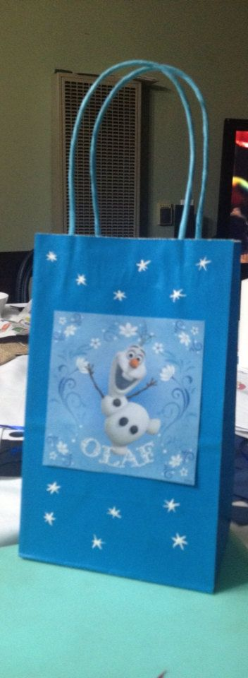 Frozen Disney Olaf and Reindeer Birthday by FantastikCreations, $18.00
