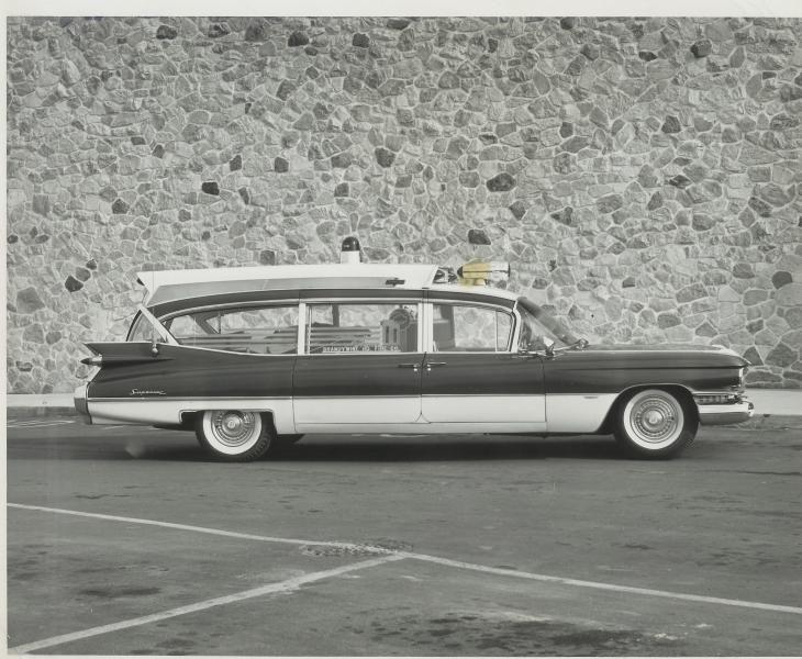 1959 cadillac ambulance by superior coaches cadillac ambulances rh pinterest com