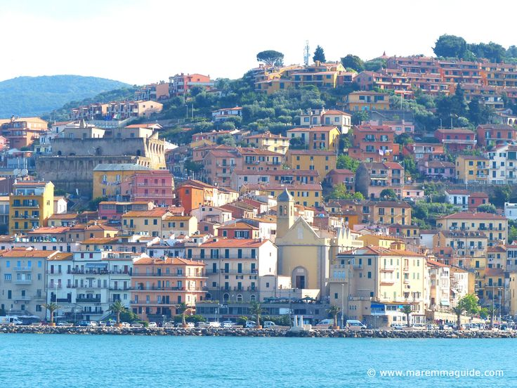 Beautiful Porto Santo Stefano in Monte Argentario, Maremma Tuscany