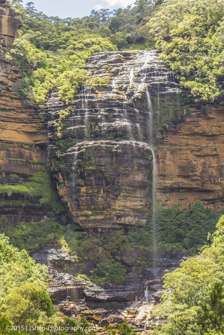 Wentworth Falls in the Blue Mountains National Park, NSW, Australia.  Get your hiking boots on and go explore this 5hr trail with rainforest, waterfall, cliff lookouts and wildlife.  www.jshep-photography.com