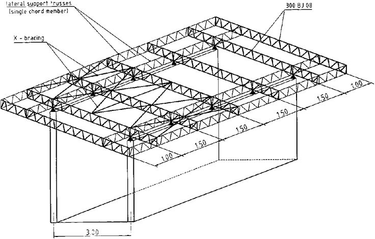 17 best ideas about steel trusses on pinterest exposed for Truss roof system