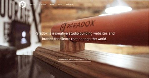 Paradox Design Studio has clean and responsive layout, big image, white background along with combination of grey color and nice jquery work. http://minimalistgallery.com/