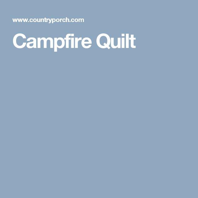 Campfire Quilt