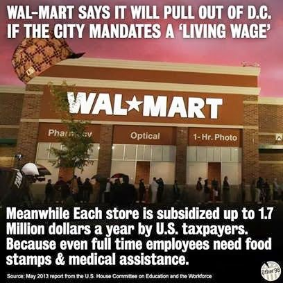 Wal Mart Food Stamps A Year
