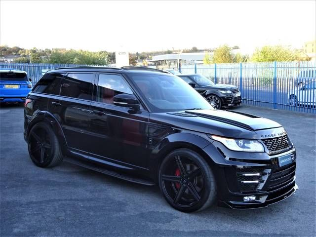 Cheap Land Rover Range Rover Sport 3 0 Sdv6 Autobiography Dynamic 5dr Auto Svrr Widebody Stage 4 Red Lea Range Rover Range Rover Sport Range Rover Supercharged