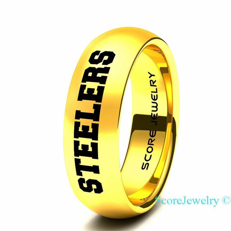 Womens Steeler Rings