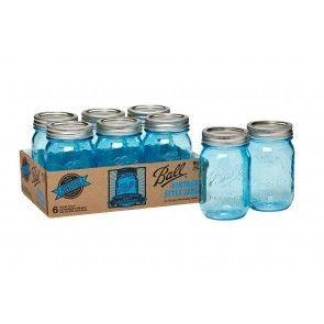 Imagem de ball mason jars, inmaakpotten, and weckpotten