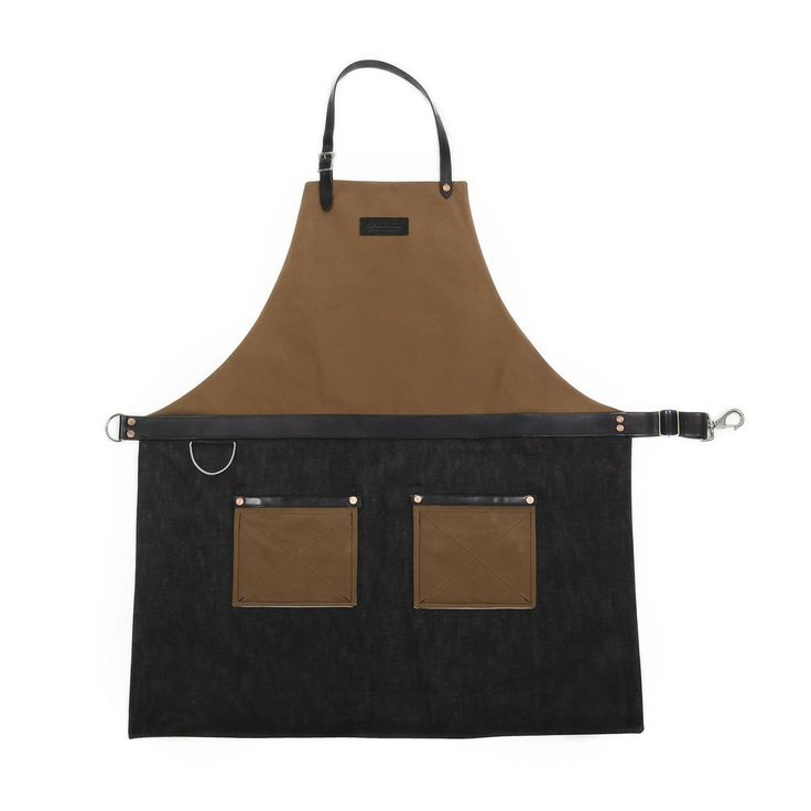 Hardmill, another awesome Seattle company! (Rugged Apron - Canvas / Denim - Tobacco)