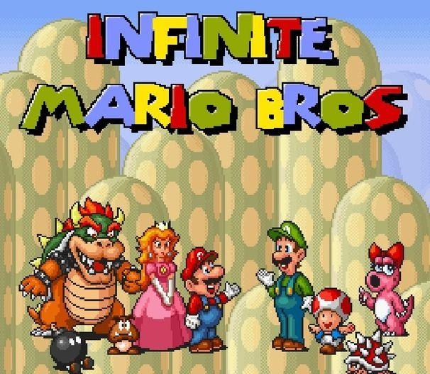 Infinite Mario Unblocked Games 77 Site Mario Games Free Mario Games Super Mario Bros Games
