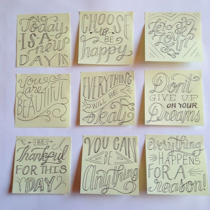 Finding and Spreading Inspiration Post-its