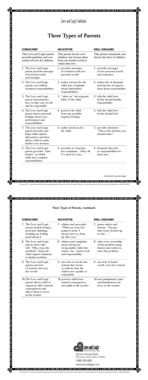Parenting styles on development essay