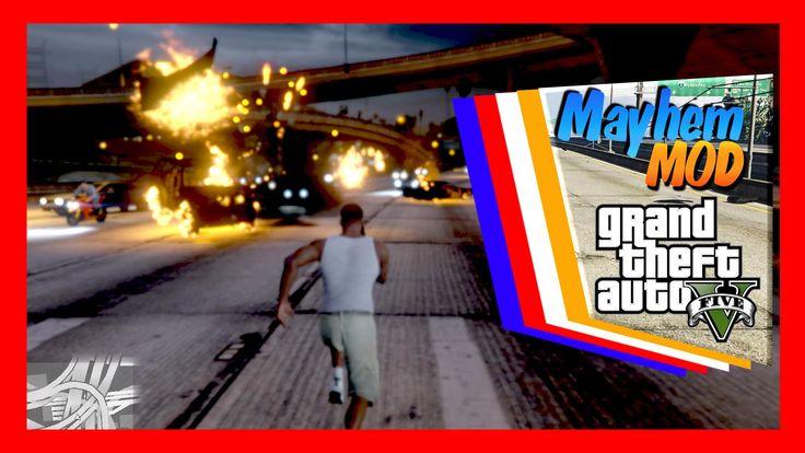 GTA 5  Mayhem Mod   Carmageddon  угараем с читами