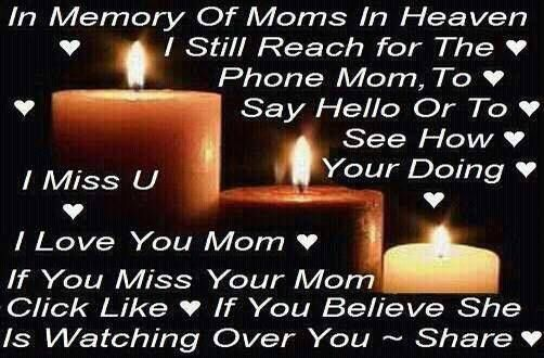 43 Best Mom In Heaven Images On Pinterest