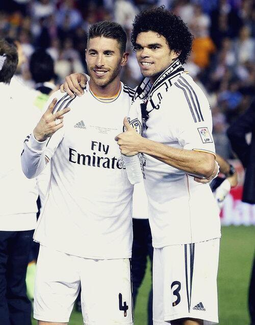 Ramos and Pepe <3