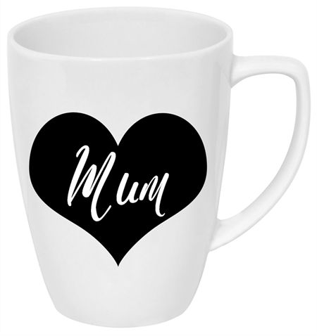 Mum/Mother's Day bottle/mug label - choose your design and colour