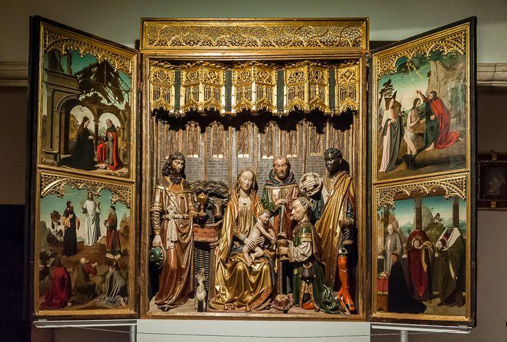 Museo de la Colegiata. Tríptico de la Adoración de los Reyes Magos **