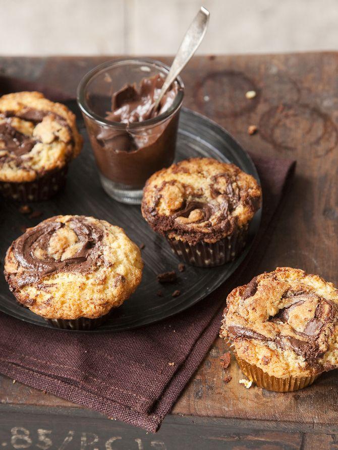 30min nutella muffinssit