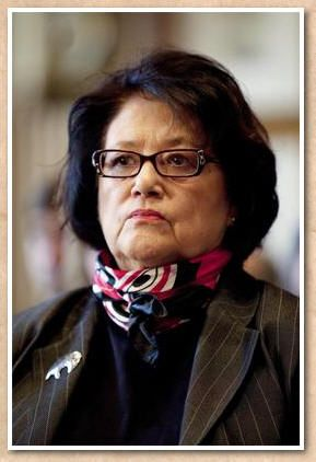 Elouise Cobell's name will go down in history as the woman who won recognition and respect for her people who had been cheated out of money by the federal government since the late 1800s.