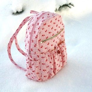 """Backpack Sewing Pattern - PDF - """"Amy"""""""