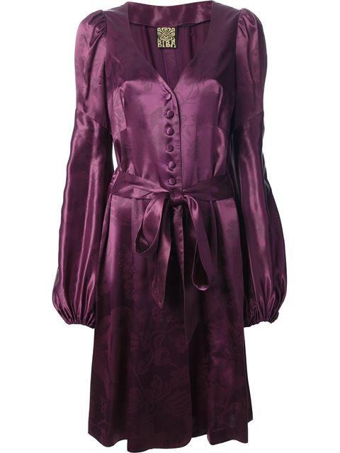 Shop Biba Vintage dress trouser suit -- Decades