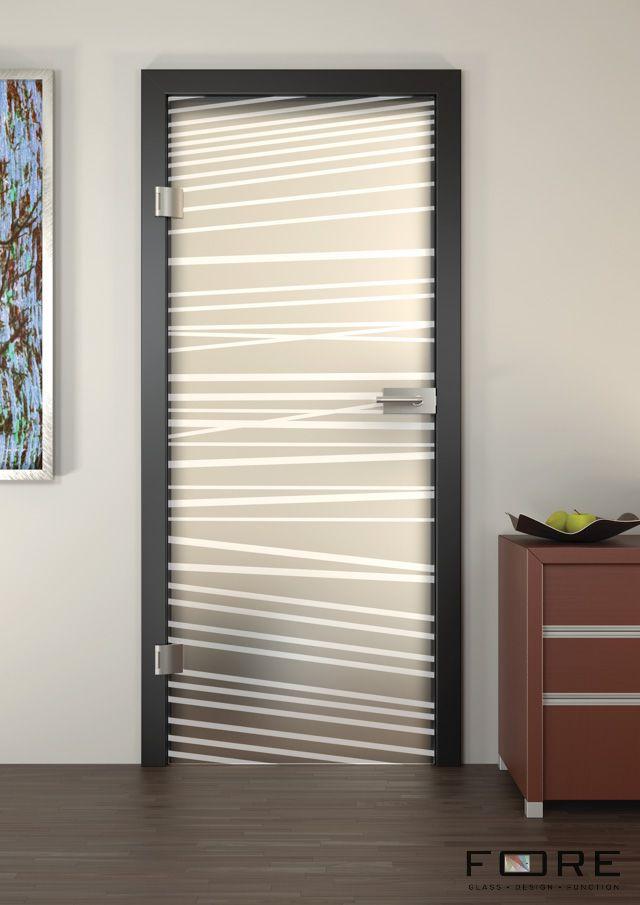 Drzwi szklane Stripes 06, glass doors,www.fore-glass.com, #drzwi #drzwiszklane #drzwiwewnetrzne #szklane #glassdoor #glassdoors #interiordoor #glass #fore #foreglass #wnetrza #architektura