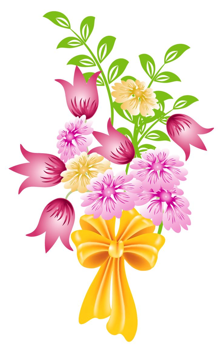 free spring flower bouquet clipart - photo #2