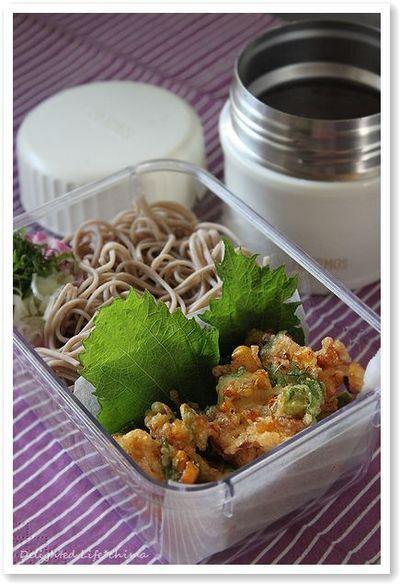 天ざる蕎麦弁当 by chimaさん   レシピブログ - 料理ブログのレシピ満載!