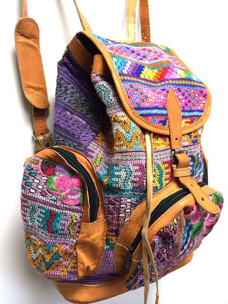 Guatemalan Backpack