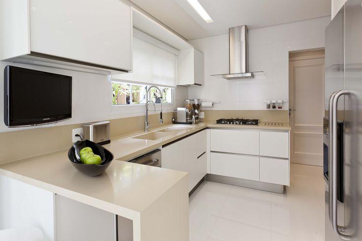 Cozinha -  Projeto: Mayra Lopes Produto: Cerâmica Portinari