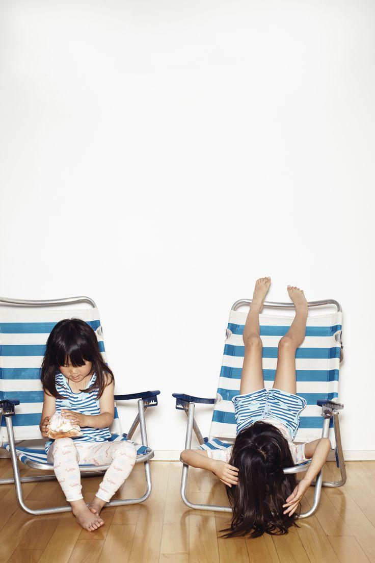 SS17 - NORDIC SUMMER - LES PETITS VAGABONDS #chaiselongue #stripes #nordicsummer #kidsfashion