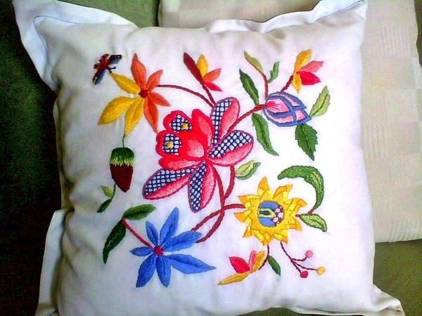embroidery..