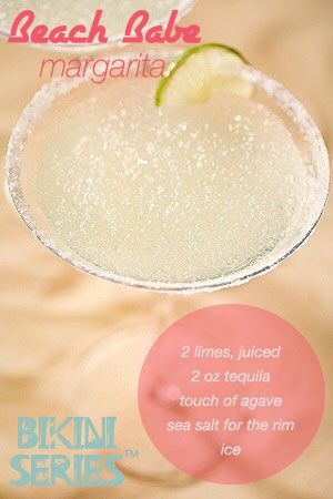 This Tone It Up approved Beach Babe Margarita is refreshing and perfect for celebrating!!!