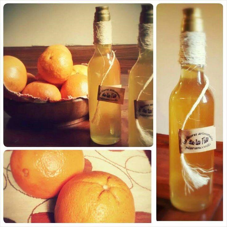 Licor artesanal de naranja