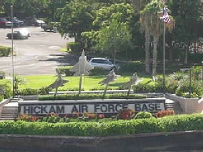 Hickham AFB, Hawaii ... maybe we can get stationed there