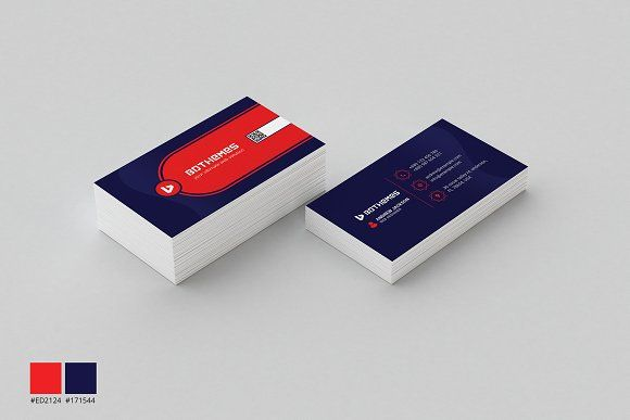 Business Card Template 17 by BdThemes on @creativemarket