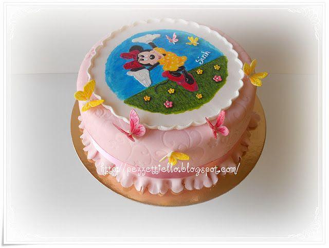 Le Torte di Pezzettiello e non solo...: (PDZ) Minnie e le farlalle