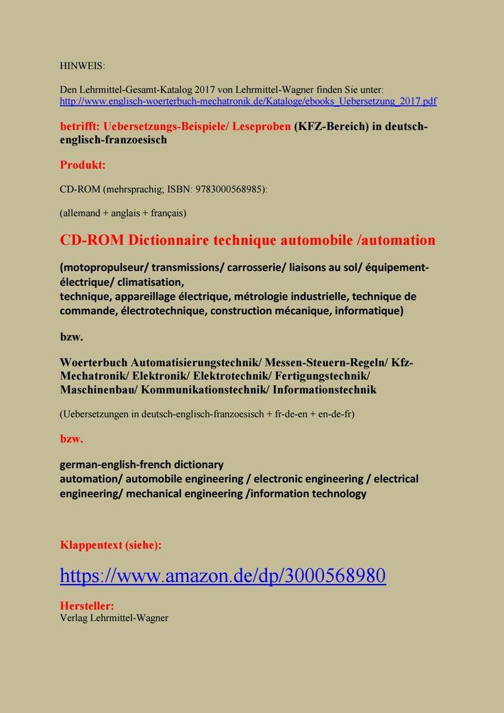 11 best Woerterbuch deutsch englisch fuer Industriemechaniker (ebook Mechanik) images on