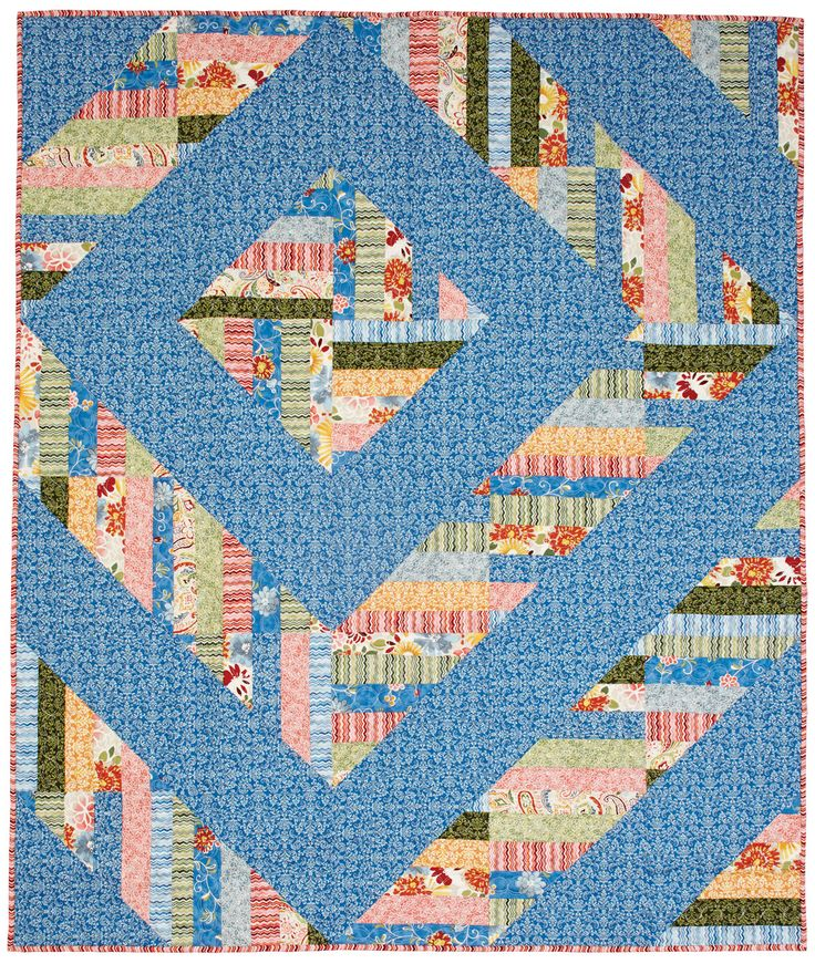It's all about the Log Cabin quilt block - Barn Raising setting, in this BLOCK Friday blog. Find out how it all started and check out some awesome quilts!